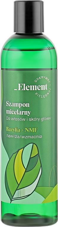 Шампунь для укрепления волос от выпадения - _Element Basil Strengthening Anti-Hair Loss Shampoo