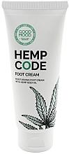 Духи, Парфюмерия, косметика Увлажняющий крем для ног с конопляным маслом для сухой и нормальной кожи - Good Mood Hemp Code Foot Cream