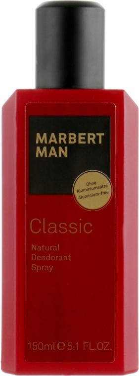 Натуральный дезодорант-спрей - Marbert Man Classic Natural Deodorant Spray