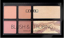 Духи, Парфюмерия, косметика Набор для макияжа - Lamel Professional Blush&Strobing Make-Up Kit