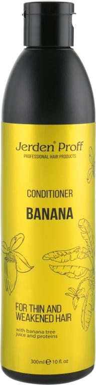 Кондиционер для волос с соком бананового дерева и протеинами - Jerden Proff Banana