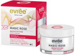 Духи, Парфюмерия, косметика Крем для лица - Evree Magic Rose Beautifying Face Cream 30+