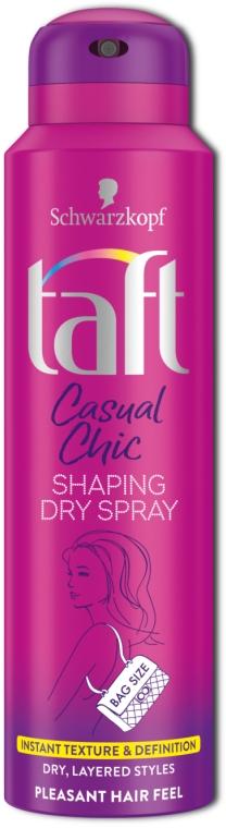 Спрей текстурирующий для волос - Taft Casual Chic Shaping Dry Spray