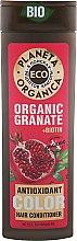 "Духи, Парфюмерия, косметика Бальзам для волос ""Защита цвета"" - Planeta Organica Organic Granate+Biotin"
