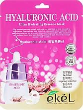 Духи, Парфюмерия, косметика Тканевая маска с гиалуроновой кислотой - Ekel Hyaluronic Acid