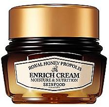 Духи, Парфюмерия, косметика Питательный крем для лица с прополисом - Skinfood Royal Honey Propolis Enrich Cream