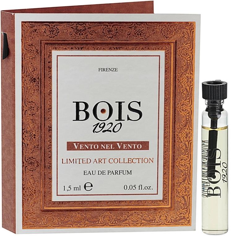 Bois 1920 Vento Nel Vento Limited Art Collection - Парфумована вода (пробник) — фото N1