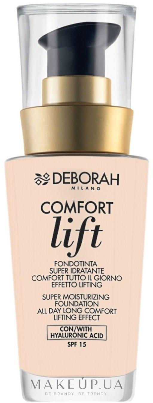 Тональная основа для лица - Deborah Comfort Lift Foundation — фото 0