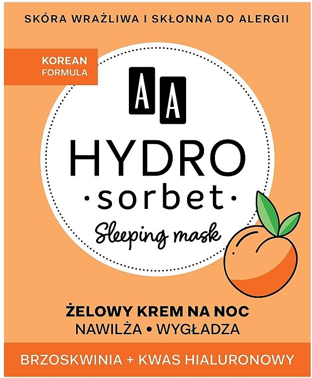 Ночная маска для лица - AA Hydro Sorbet Korean Formula Sleeping Mask