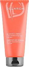 Духи, Парфюмерия, косметика Апельсиновый гель для душа - Delarom Orange Bath&Shower Gel