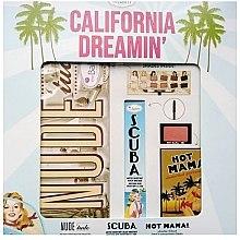 Духи, Парфюмерия, косметика Набор - TheBalm California Dreamin Box Set (mascara/9.8ml+blush/3g+palette/11g)