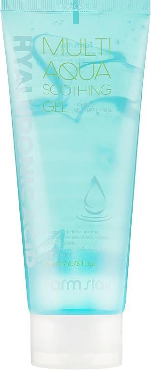 Многофункциональный успокаивающий гель с гиалуроновой кислотой - FarmStay Hyaluronic Acid Multi Aqua Soothing Gel