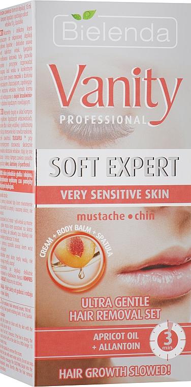 Набор - Bielenda Vanity Soft Expert (cr/15ml + balm/2x5g + blade)
