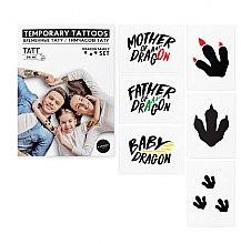 Духи, Парфюмерия, косметика Временные тату - TATTon.me Dragon Family Set