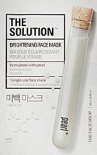 Духи, Парфюмерия, косметика Осветляющая маска для лица - The Face Shop The Solution Brightening Face Mask