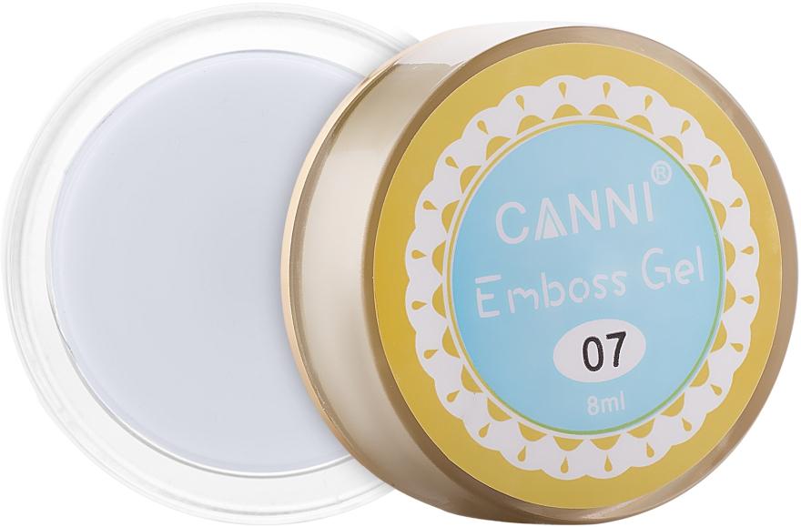 Гель-паста для ногтей - Canni 3D Emboss Gel