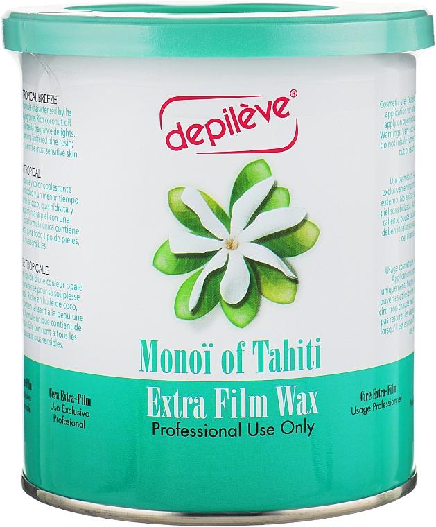 Воск пленочный с маслом монои - Depileve Film Monoi Wax