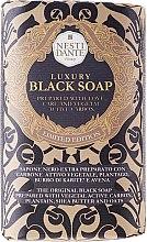 """Духи, Парфюмерия, косметика Мыло """"Роскошное чёрное"""" - Nesti Dante Luxury Black Soap"""