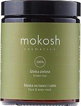 """Духи, Парфюмерия, косметика Маска для лица и тела """"Зеленая глина"""" - Mokosh Cosmetics Green Clay Face and Body Mask"""