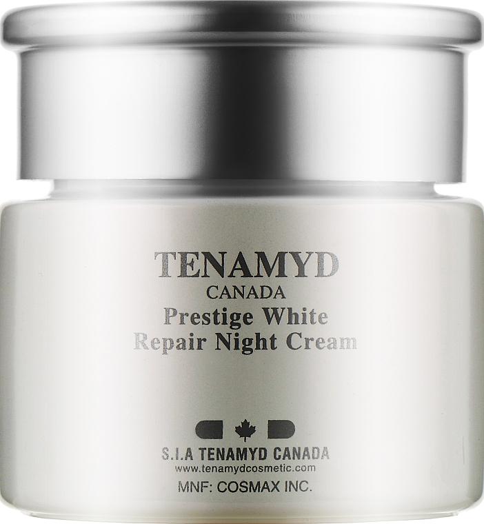Интенсивно отбеливающий ночной крем для кожи с пигментацией - Tenamyd Canada White Lagoon Prestige White Repair Night Cream