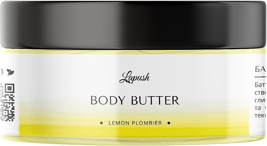 Баттер для тела «Лимонный пломбир» - Lapush Body Butter Lemon Plombier