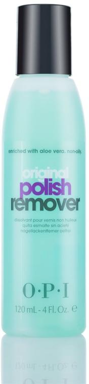 Рідина для зняття лаку з алое для натуральних нігтів - O. P. I Polish Remover — фото N1
