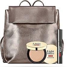 Духи, Парфюмерия, косметика Набор - Pupa Explosive Lashes & Light Infusion 2019 (mascara/12ml + highlighter/4g + bag)