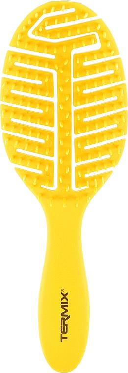 Массажная щетка для волос, желтая - Termix Colors