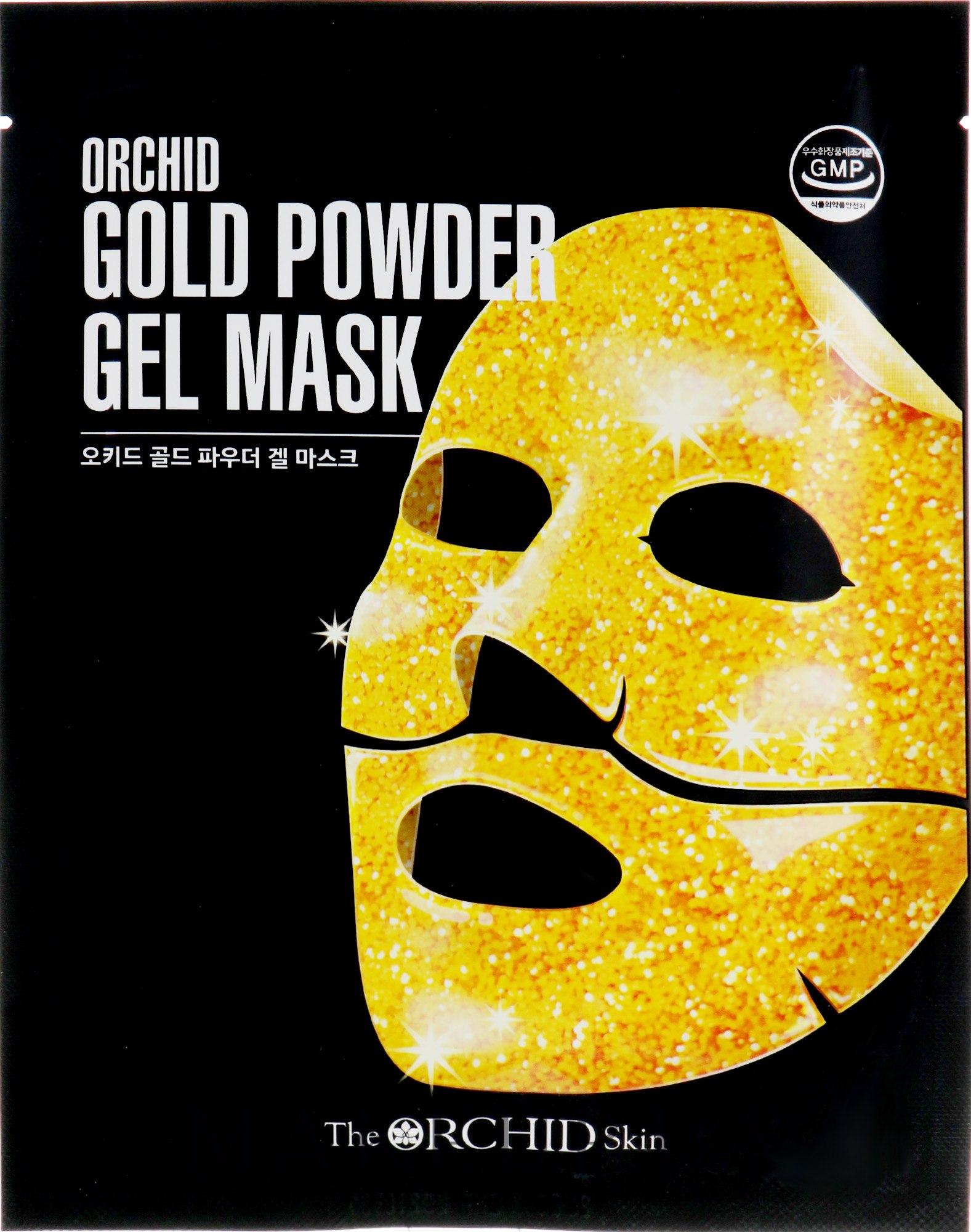 Гидрогелевая маска с золотым порошком - The Orchid Skin Gold Powder Gel Mask — фото 25g