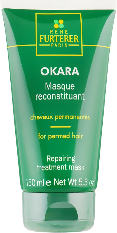 Восстанавливающая маска для волос с завивкой - Rene Furterer Okara Repairing Treatment Mask