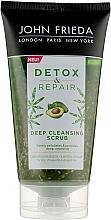 Парфумерія, косметика Очищувальний скраб для шкіри голови - John Frieda Detox & Repair Deep Cleansing Scrub