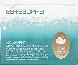 Духи, Парфюмерия, косметика Тканевая маска для лица - Estesophy Marvelous Sheet Smail Mask