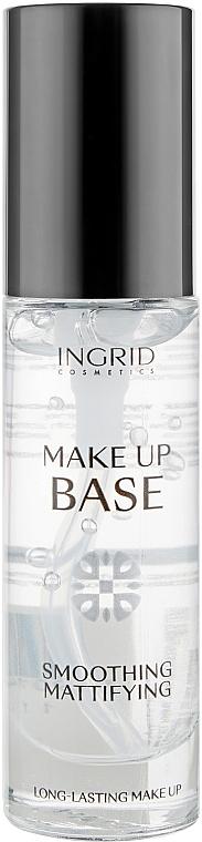 Выглаживающая и матирующая база под макияж - Ingrid Cosmetics Make Up Base