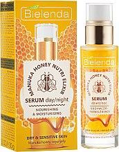 Духи, Парфюмерия, косметика Питательная увлажняющая сыворотка - Bielenda Manuka Honey