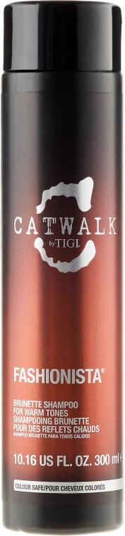 Шампунь для брюнеток - Tigi Catwalk Fashionista Brunette Shampoo