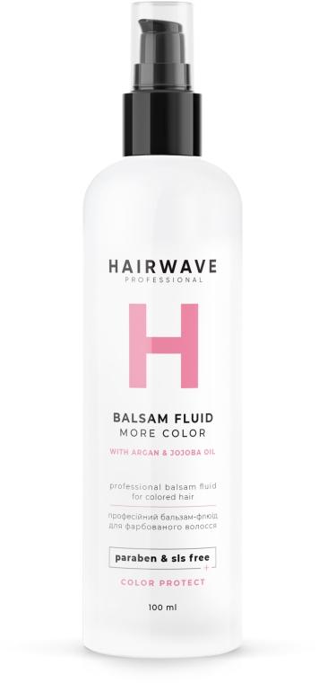 "Бальзам-флюид для окрашенных волос ""More Color"" - HAIRWAVE"