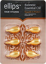 "Духи, Парфюмерия, косметика Витамины для волос ""Питание и защита Бали"" - Ellips Hair Vitamin Balinese Essential Oil Nourish & Protect"