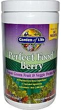 Духи, Парфюмерия, косметика Ягодная добавка с фруктово-овощной формулой - Garden of Life Perfect Food Berry