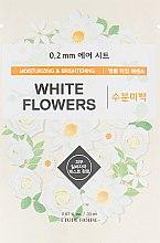 """Духи, Парфюмерия, косметика Маска тканевая для лица """"Белые цветы"""" - Etude House 0.2 Therapy Air Mask No.White Flowers"""