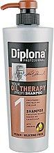 Духи, Парфюмерия, косметика Шампунь с аргановым маслом для сухих и ломких волос - Diplona Professional Oil Therapy Shampoo