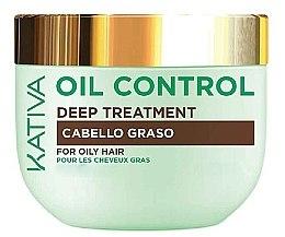 Духи, Парфюмерия, косметика Маска для жирных волос - Kativa Oil Control Deep Treatment