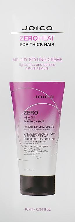 Стилизирующий крем для густых волос (без сушки) - Joico Zero Heat Air Dry Creme For Thick Hair (саше)