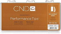 Духи, Парфюмерия, косметика Типсы, 360шт - CND Performance Tips No Contact Area