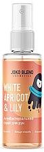 Парфумерія, косметика Антибактеріальний спрей для рук - Joko Blend White Apricot & Lily