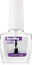 Духи, Парфюмерия, косметика Быстросохнущая основа - Quiss Healthy Nails №9 Instant Base