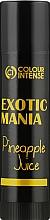 """Духи, Парфюмерия, косметика Бальзам для губ """"Exotic Mania"""" с ароматом ананаса - Colour Intense Lip Balm"""