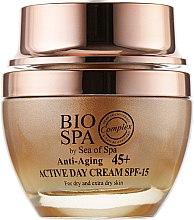 Антивозрастной дневной крем с тыквенным маслом - Sea of Spa Bio Spa Anti-Aging 45+ Active Day Cream — фото N2