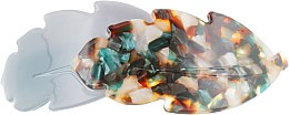 """Духи, Парфюмерия, косметика Заколка-автомат для волос """"Дубовые листочки"""", 1171, разноцветная - Элита"""