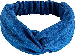 """Духи, Парфюмерия, косметика Повязка на голову, деним переплет, голубая """"Denim Twist"""" - MakeUp Hair Accessories"""