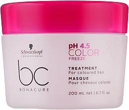 Духи, Парфюмерия, косметика Маска-лечение для окрашенных волос - Schwarzkopf Professional BC Bonacure Color Freeze Treatment